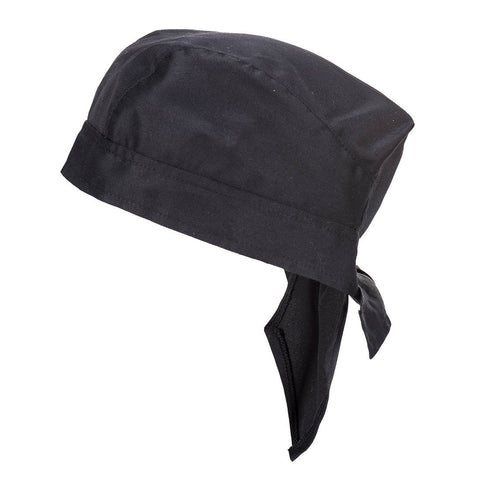 Portwest - S903 Black Chefs Bandana - Surplus City