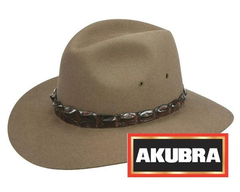 Akubra - Coolabah Hat - Bran - Surplus City