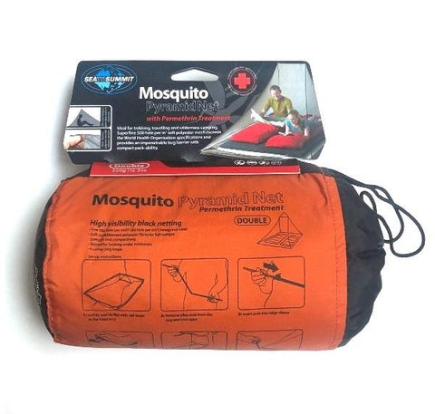 Sea to Summit - Mosquito Pyramid Net Double Treated - Surplus City