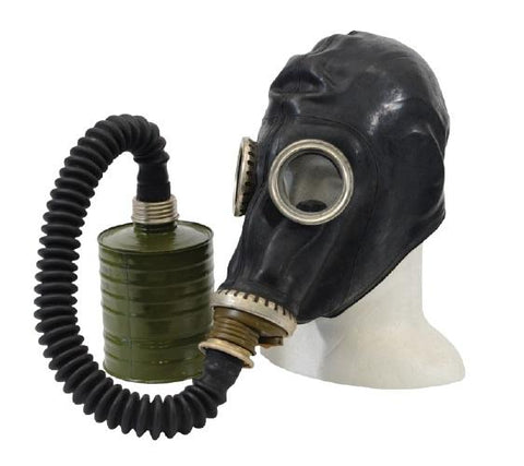 Black Soviet GP-5 Gas Mask