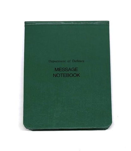 20 Page Field Army Notebook