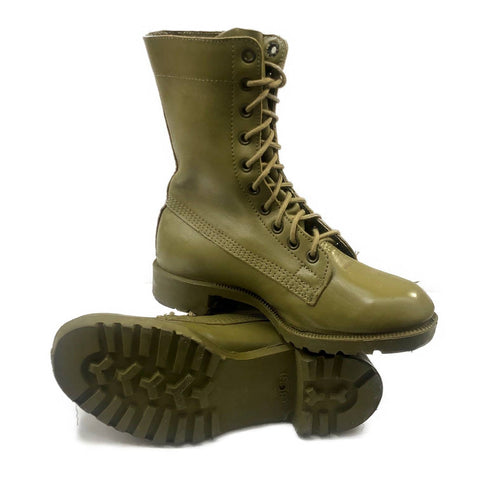 Australian Army Leather GP Boots - Khaki - Surplus City