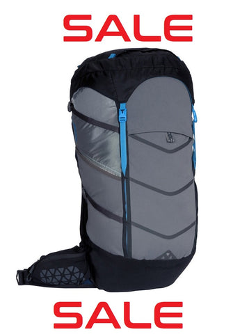 Lost Coast - 60L- Hydration Compatible Backpack - Farallon Black