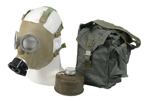 Grey Polish MC-1 Gas Mask - Surplus City