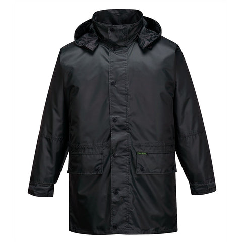 Portwest - MR206 Rain Jacket - Black / Navy / Green - Surplus City