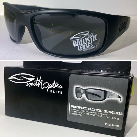 Smith Optics - Prospect Tactical - Black / Gray