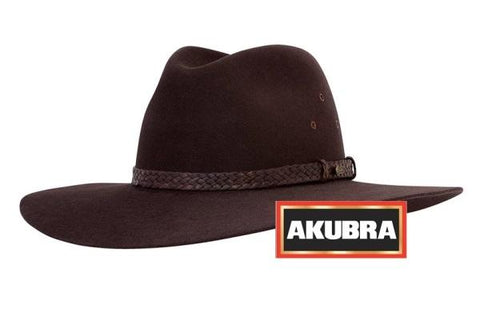 Akubra Riverina Hat- Loden