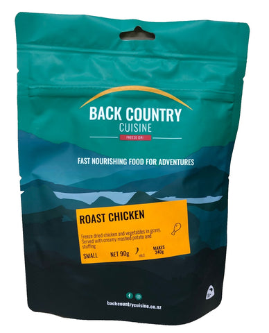 Back Country Cuisine - Single Serve MRE's - Made in New Zealand