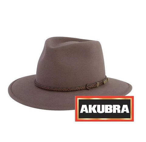 Akubra - Traveller Hat - Regency Fawn - Surplus City