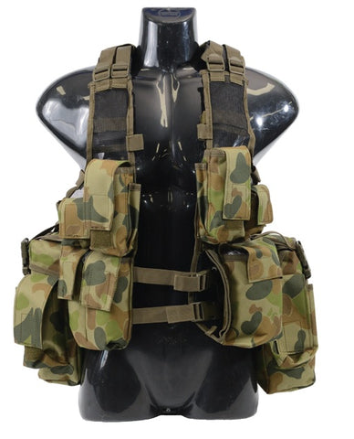 M83 Assault Vest - South African Style - AUSCAM / Black / Woodland