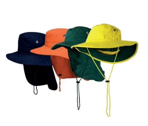 Portwest - HVH601 Wide Brim Hat -  Blue / Yellow / Orange / Green - Surplus City