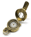 Brass Military Style Lensatic Compass - Surplus City