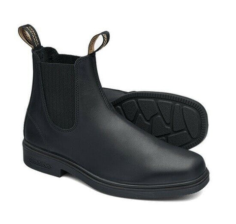 Blundstone - #663 Elastic Sided Black Dress Leather Slip On Boot - Non Safety - Surplus City