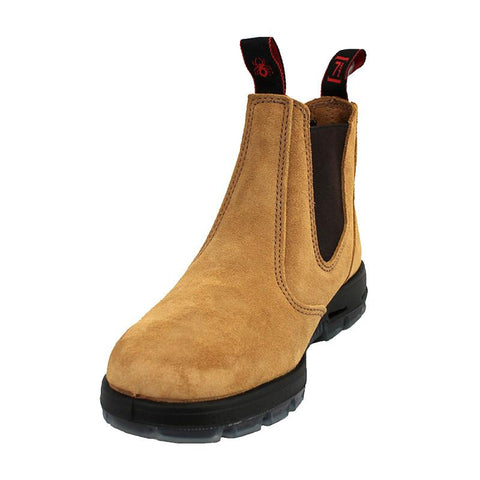 Redback Safety Boot Bobcat USBBA Banana Suede