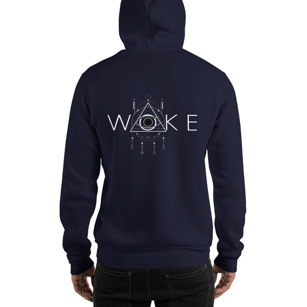 WOKE: Unisex Hooded Sweatshirt
