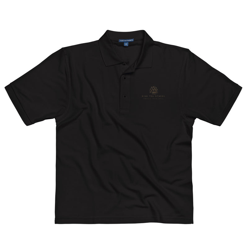 Find The Others: Embroidered Polo Shirt