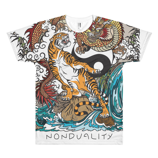 Non-Duality (Tiger/Dragon) Short sleeve T-Shirt