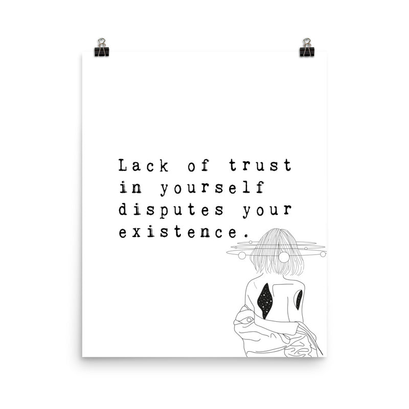 Trust Yourself: Poster Art