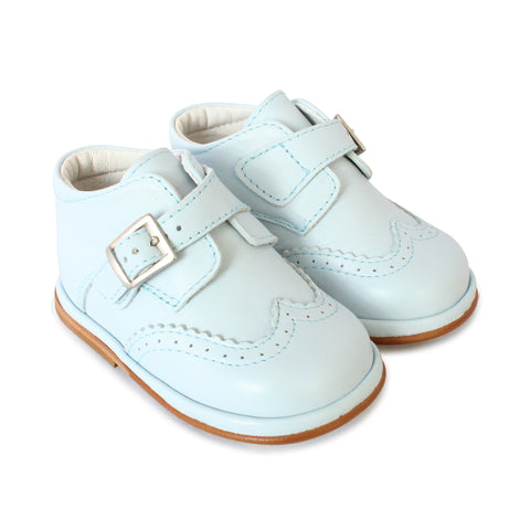 Boys blue leather Chico boot. 1165
