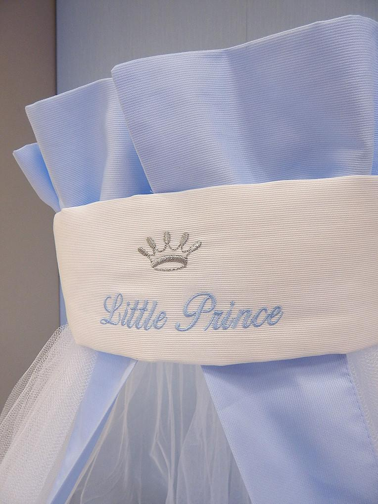 Baby Oliver Little Prince Nursery Cushion