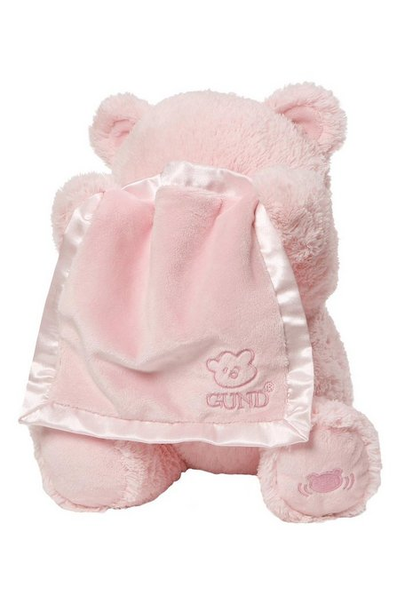 Peek a Boo Teddy Pink-Young Trend Boutique