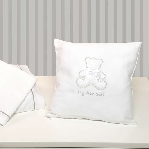 Baby Oliver My little one White Nursery cushion
