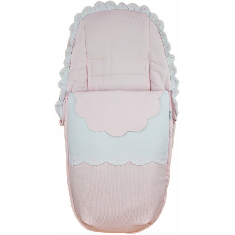 Rosy Fuentes Pushchair Footmuff Pink 72699