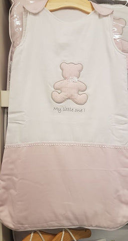 Baby Oliver My Little One Pink Sleeping bag