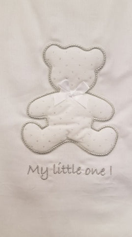 Baby Oliver My Little One White Sleeping bag