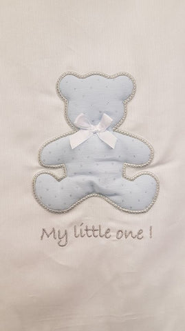 Baby Oliver My Little One Blue Sleeping bag