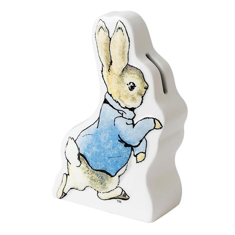 Gund Peter Rabbit Running bank.