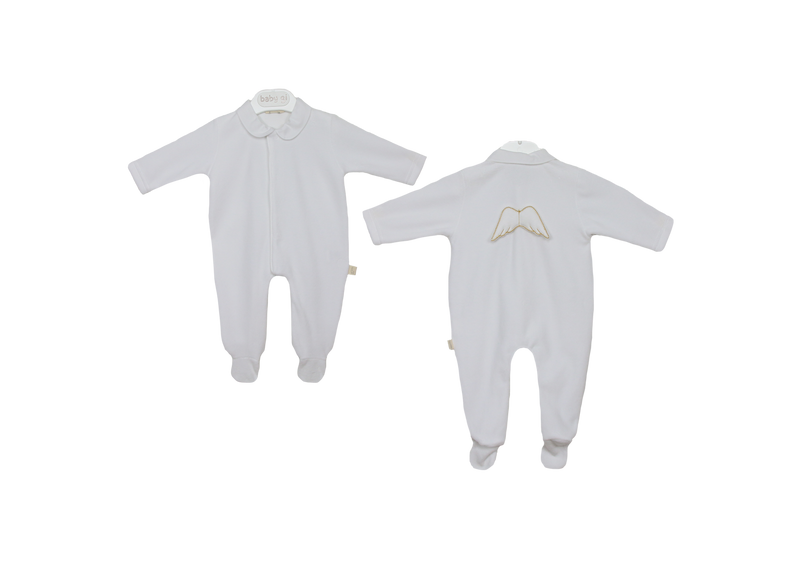 Baby Gi White Angel Romper BG53LAB