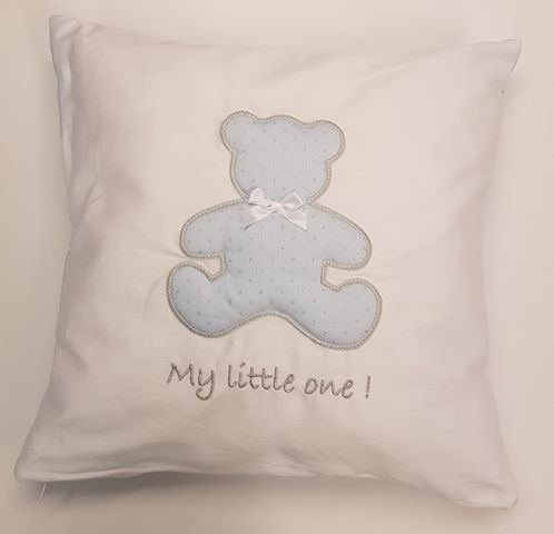 Baby Oliver My little One Blue Nursery Cushion
