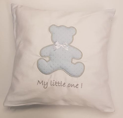 Baby oliver My little one Blue Cushion
