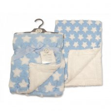 Snuggle Baby Blue star wrap/blanket. 1003