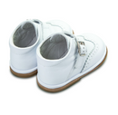 Borboleta White Leather Chico Boot . 1165