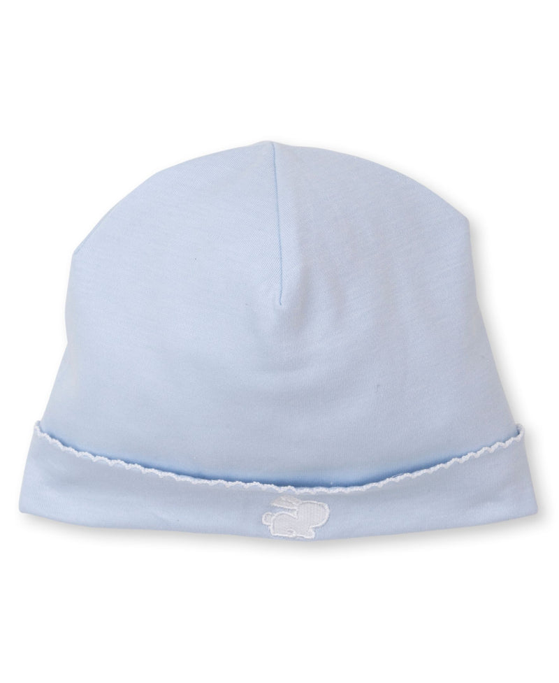 Kissy Kissy Baby Boy Hospital Hat Blue Bunny KB505714N