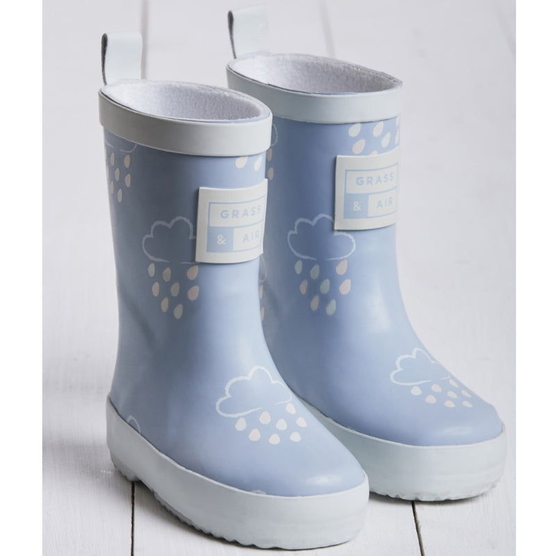 Grass and Air Wellies Blue-Young Trend Boutique