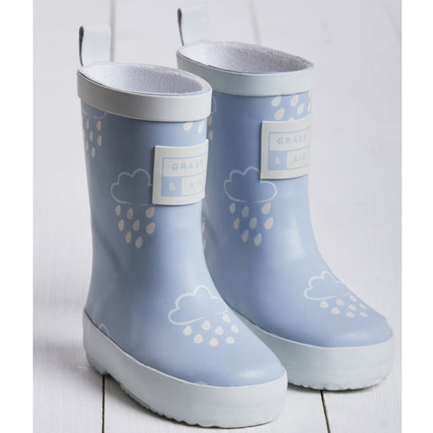 Grass and Air Wellies Blue