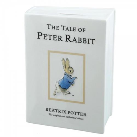Gund Peter Rabbit book bank