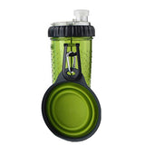 2 in 1 Pet Travel Bottle