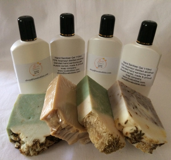 Hand Cleansing Gel & Vegan Soap 8 Pack