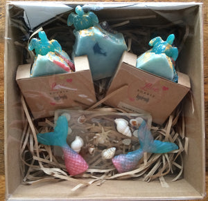 Sea Turtles Handmade Natural Vegan Pamper Hamper Medium