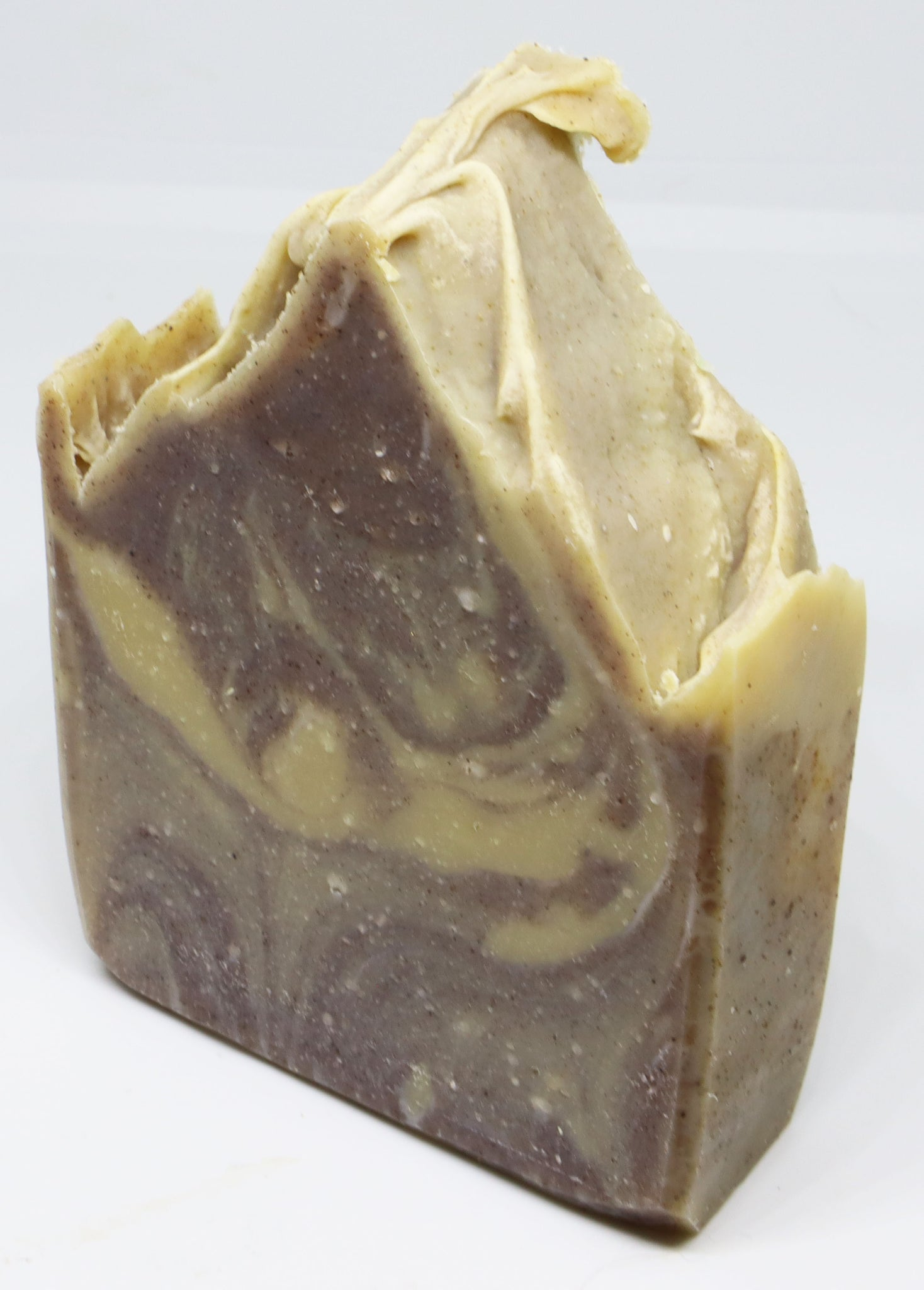Exfoliator - Cinnamon & yellow clay handmade vegan soap