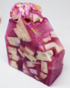Candy transparent lavender soap