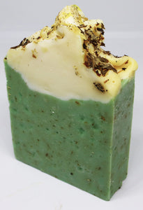wake up call - Peppermint & Chamomile handmade vegan soap #lovebobbiesoap