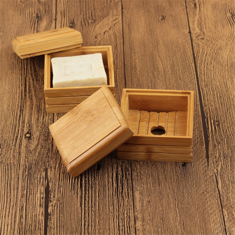 Bamboo Soap Travel Gift Box