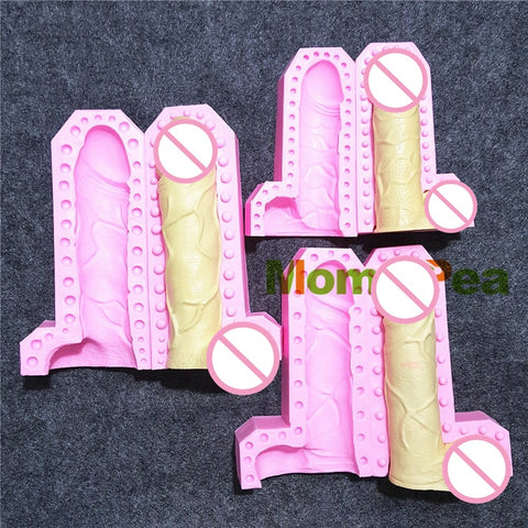 Penis Shaped Silicone Mould