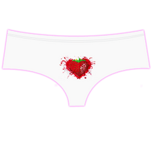 Load image into Gallery viewer, Strawberry Splash - Strawberry Scented Boyshort