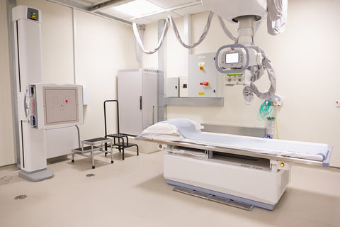x-ray room radiation shielding